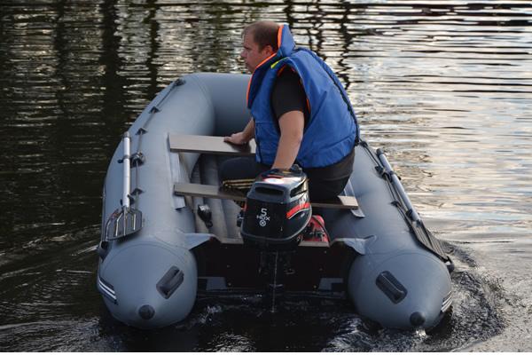 лодка с нднд хантер